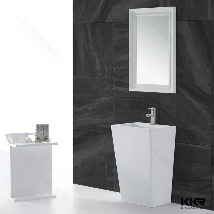 Miroir Blanc Surface Solide KKR-1579